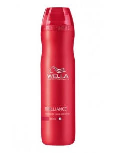 Wella Brilliance shampoo 250ml Thick