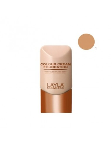 Colour cream foundarion layla