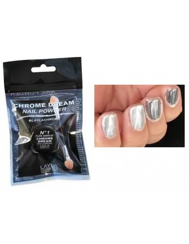 Layla Chrome dream Nail powder