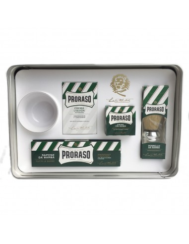 Proraso 401935 Classic shaving set metal