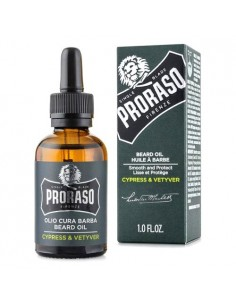 Proraso 400742 Cypress and Vetyver Olio cura barba