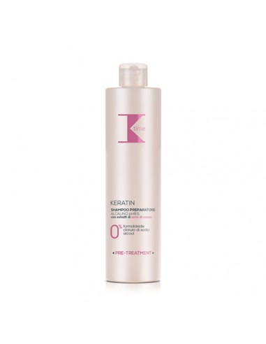 Keratin Time shampoo preparatore