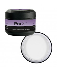 Peggy Sage Pro 3.1 gel french manucure blanc 146625