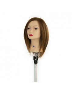 Real hair 35cm mannequin I109