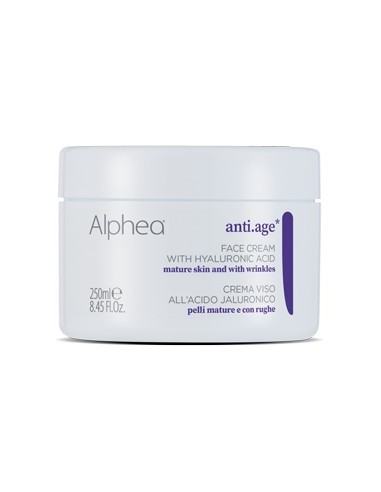 Alphea crema viso all'acido jaluronico 250ml