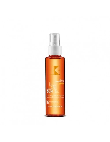 K Time Secret sun oil