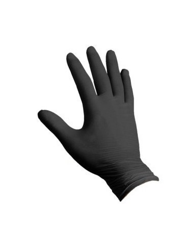 Ro.Ial. Strong black nitrile gloves